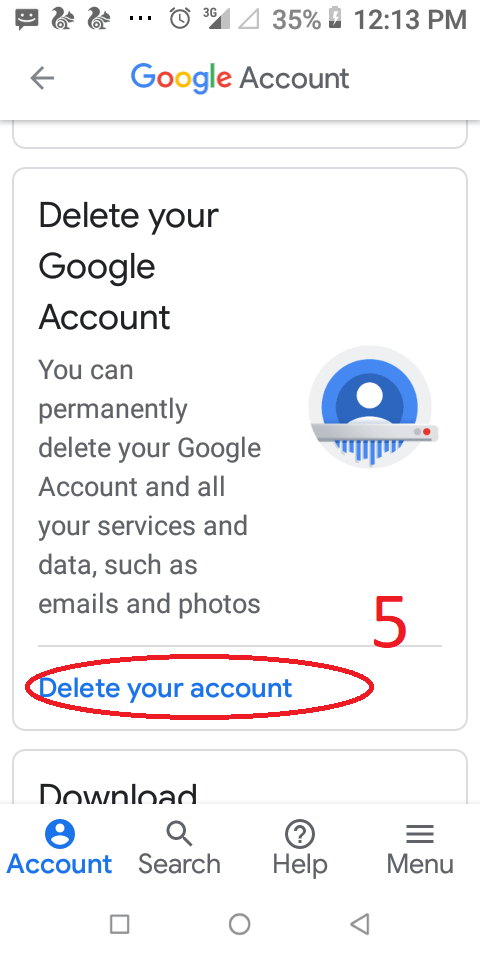 Delete+your+account+Gmail
