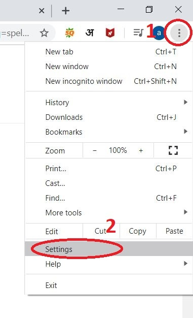 spell+checker+Google+chrome